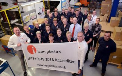 Icon Plastics achieves highest standards accreditation